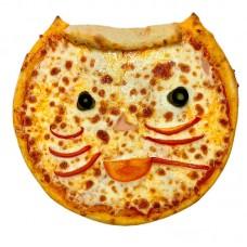 Пицца Детская с ветчиной 25 см