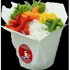 Лапша с овощами