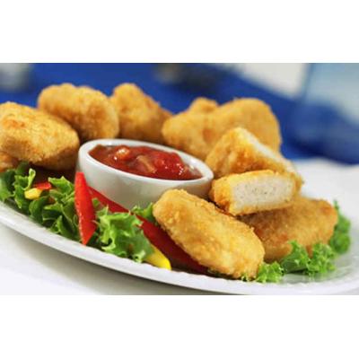 Наггетсы куриные с  соусом