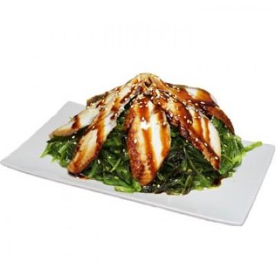 Чука салат с угрем